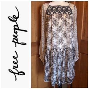 NWT ❤️ Free People ~  Boho Floral Dress